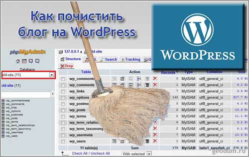 Плагины для чистки WordPress